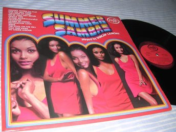 Summer Sambas (LP) Latin Rhythms Breaks EX/EX