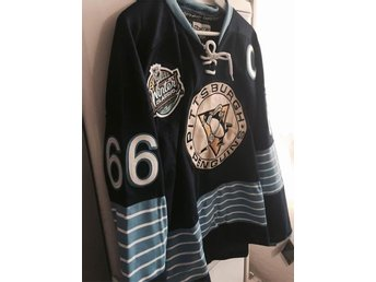 Lemieux (Size S/M 48) Winter Classic Pittsburgh - Nhl matchtröja