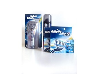 GROOMING / Gillette Mach3 Turbo – Superpack