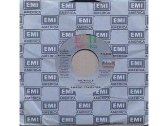 Rappers' Convention title* The Wiggle* Hip Hop 80 Golden US 7""