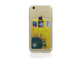 TPU card slot case iPhone 5 Transparent