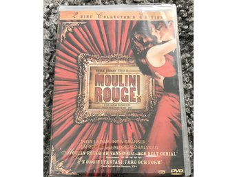 Moulin Rouge - 2 disc Collector's Edition (2001) //ny o inplastad