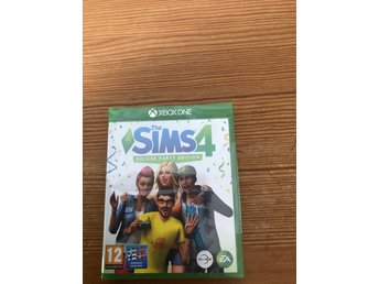 The sims 4 deluxe party edition. Nytt inplastad xboxone