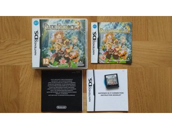 Nintendo DS: Rune Factory 3