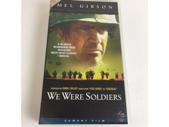 Egmont Film, VHS-film, We Were Soldiers, Svart