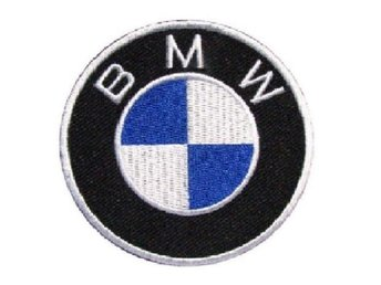 BMW Round Patch Big Brodyrmärke.