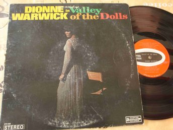 DIONNE WARWICK - VALLEY OF THE DOLLS LP