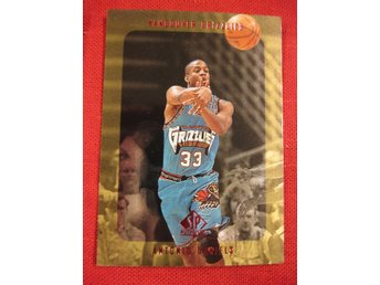 ANTONIO DANIELS -  RC - SP AUTHENTIC 1997-98 - VANCOUVER GRIZZLIES - BASKET