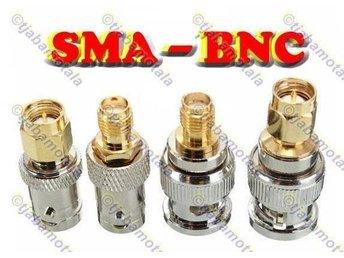 BNC - SMA (4st) Adapter (NYA) - Motala - BNC - SMA (4st) Adapter (NYA) - Motala