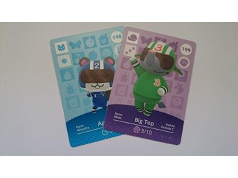 Animal Crossing Amiibo Cards series 2 Nr 198, 199