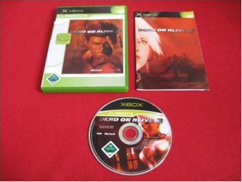 DEAD OR ALIVE 3 till Xbox