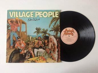 VILLAGE PEOPLE - GO WEST, orig SWE 1979
