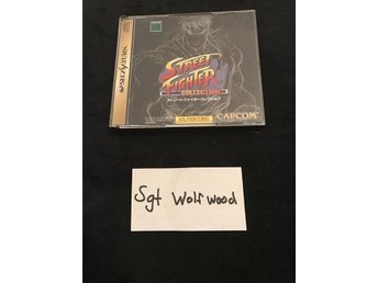 Street Fighter Collection Sega Saturn *jap*