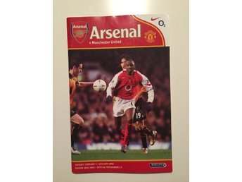 Program: Arsenal mot Manchester United - 1 februari 2005