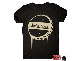 Fallout Nuka-Cola T-Shirt Svart (Medium)