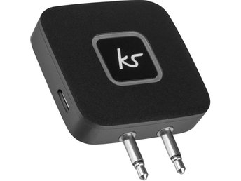 KITSOUND Bluetooth Flygplansadapter