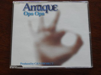 Antique - Opa Opa CD Single (1999)