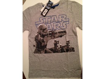 Star Wars T-shirt 164 (16 år) grå