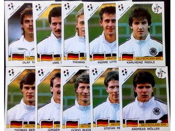 PANINIs  STICKERS - ITALY 90 -  GERMANY PLAYERS.