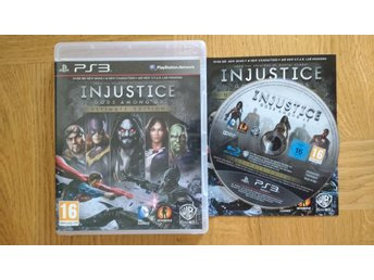 PlayStation 3/PS3: Injustice Gods Among Us Ultimate Edition