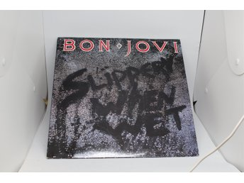 LP-SKIVA BON JOVI SLIPPERY WHEN WET