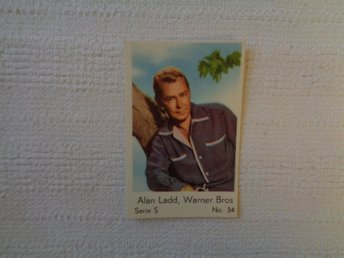 Nr 34 Alan Ladd- Serie S 1957- Stor  text