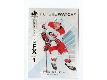 17-18 SP Authentic Spectrum FX Future Watch Bounty Haydn Fleury