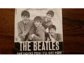 Beatles,single,Denmark,she loves you