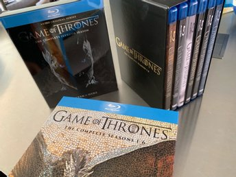Game Of Thrones säsong 1-7 svensk text blu-ray