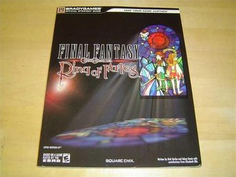 FINAL FANTASY RING OF FATES GUIDE NINTENDO DS *NYTT*