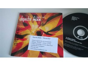 Depeche Mode - Dream on, single CD, promo