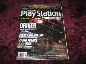 PLAYSTATION MAG Nr4 NY MED CD 4/1999 DRIVER RETRO