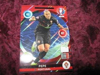 PEPE-PORTUGAL-DEFENSIVE ROCK-UEFA EURO 2016 - Katrineholm - PEPE-PORTUGAL-DEFENSIVE ROCK-UEFA EURO 2016 - Katrineholm