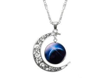 Halsband med Måne och Galaxer - Nasugbu - Halsband med Måne och Galaxer - Nasugbu