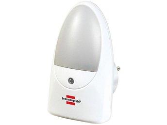 Brennenstuhl LED-nattlampa med skymningssensor, 0,85W, 1lm, vit - Höganäs - Brennenstuhl LED-nattlampa med skymningssensor, 0,85W, 1lm, vit - Höganäs