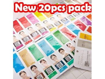 20pcs Mask pack + 10pcs = total 30pcs mask pack dermal Korea Hit on ebay