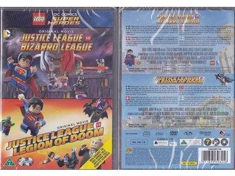 Ny inplastad DVD - Lego Justice league x 2 - Umeå - Ny inplastad DVD - Lego Justice league x 2 - Umeå