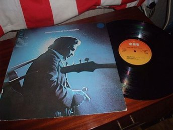 lp  johnny cash´´at san quentin´´