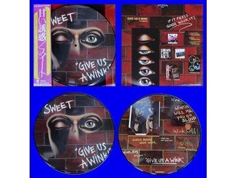 SWEET 'Give Us A Wink' Japan picture-disc LP