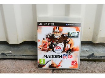 Playstation 3 PS3 spel MADDEN NFL 12