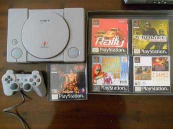PlayStation 1  PSONE + 5 spel