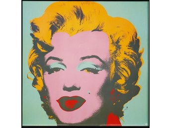 Andy Warhol, efter offsetlitografi/posters, 4 st The Andy Warhold foundation