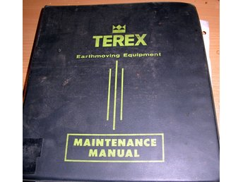 TEREX / GM - BN16LD REAR DUMP - ROCK TRUCK - MAINTENANCE SERVICE MANUAL
