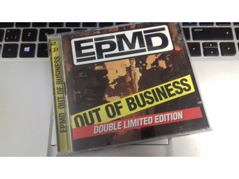 EPMD - Out Of Business - 2CD - 1999 - M-/VG+