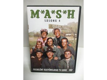 M*A*S*H - Säsong 4 (3 DISK) - FINT SKICK!