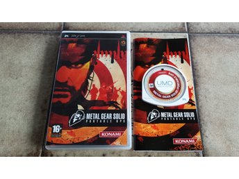 Metal Gear Solid Portable Ops Sony PSP