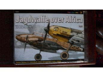 TOPCOLOURS 7 JAGDWAFFE OVER AFRICA PART 1 + DECALS & MASKING FOIL KAGERO