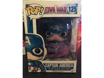 Funko Pop! Captain America #125