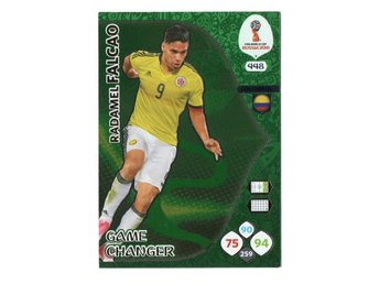 2018 Panini Adrenalyn XL FIFA World Cup Russia Game Changer Radamel Falcao