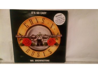 "Guns'n roses 7 "" Singel It's so easy"